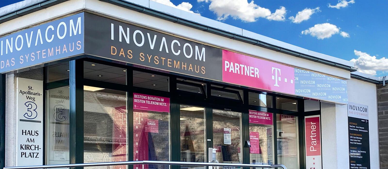 INOVACOM Das Systemhaus Ladenlokal Frielingsdorf